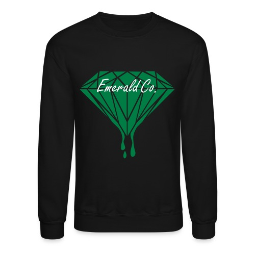 Black Emerald Co. Men's Crewneck Sweatshirt - Crewneck Sweatshirt