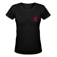 Women's T-Shirts ~ Women's V-Neck T-Shirt ~ Ladies V-Neck