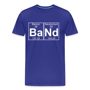 Ba-Nd (band) - Full - Men's Premium T-Shirt