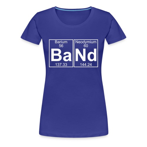 Ba-Nd (band) - Full - Women's Premium T-Shirt