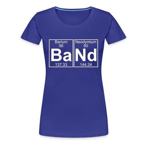 Ba-Nd (band) - Full - Women's Premium T-Shirt