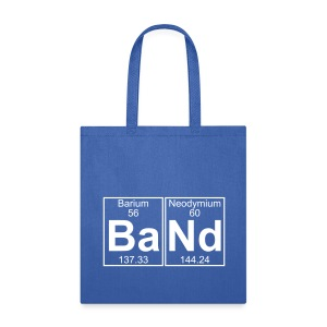 Ba-Nd (band) - Full - Tote Bag