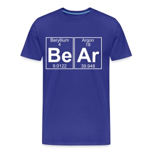 Be-Ar (bear) - Full - Men's Premium T-Shirt