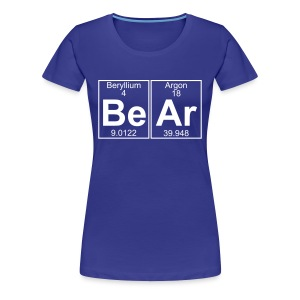 Be-Ar (bear) - Full - Women's Premium T-Shirt
