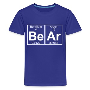 Be-Ar (bear) - Full - Kids' Premium T-Shirt