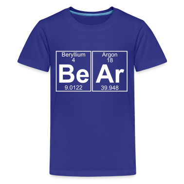 Be-Ar (bear) - Full Kids' Shirts