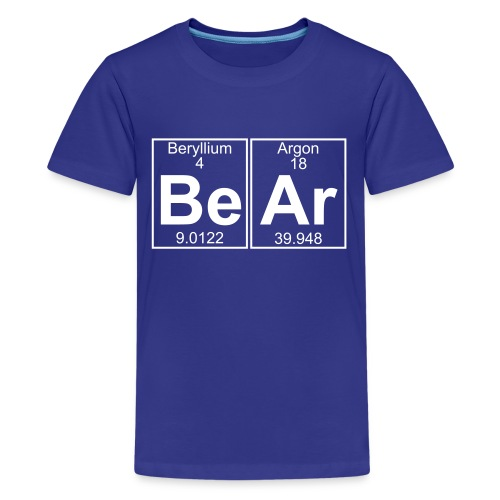 Be-Ar (bear) - Full - Kids' Premium T-Shirt