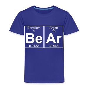 Be-Ar (bear) - Full - Toddler Premium T-Shirt