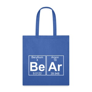 Be-Ar (bear) - Full - Tote Bag