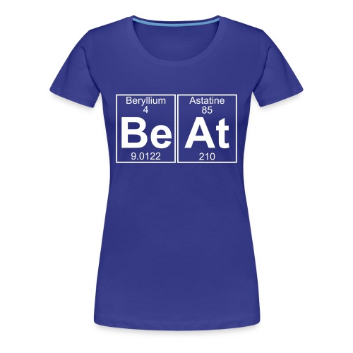 Be-At (beat) - Full - Women's Premium T-Shirt