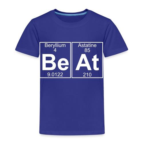 Be-At (beat) - Full - Toddler Premium T-Shirt