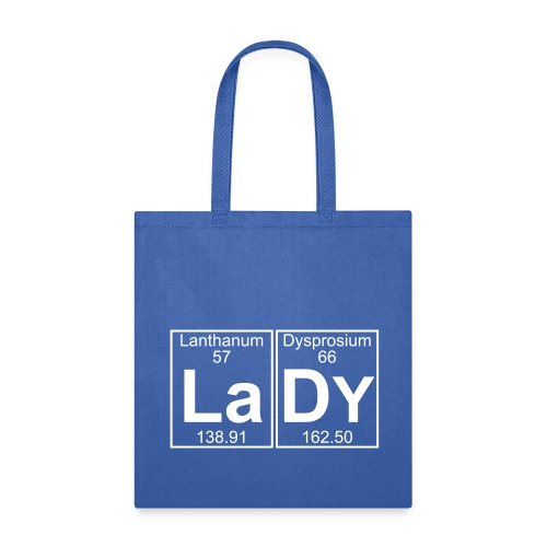 La-Dy (lady) - Full - Tote Bag