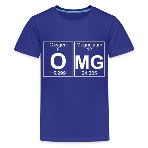 O-Mg (omg) - Full - Kids' Premium T-Shirt