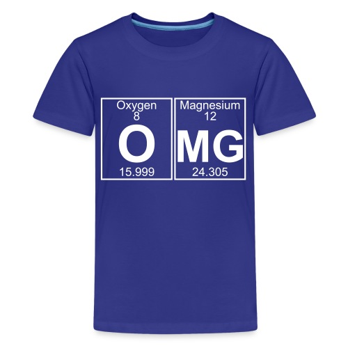 O-Mg (omg) - Full - Kids' Premium T-Shirt