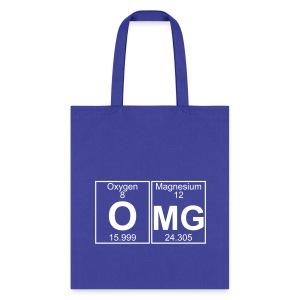 O-Mg (omg) - Full - Tote Bag