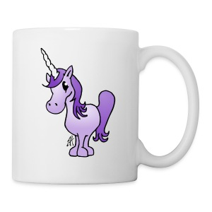 Purple Unicorn Bottles & Mugs - Coffee/Tea Mug
