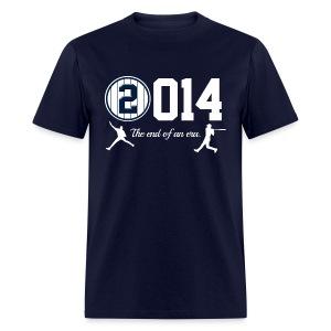 Yankee Jeter Tribute - 2014 End of Era - Mens - Navy - Men's T-Shirt