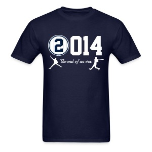 Yankee Jeter Tribute - 2014 End of Era - Mens - Navy - Men's T-Shirt