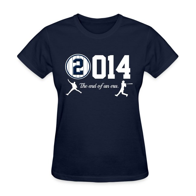 Jeter Tribute - 2014 End of Era - Womens - Navy