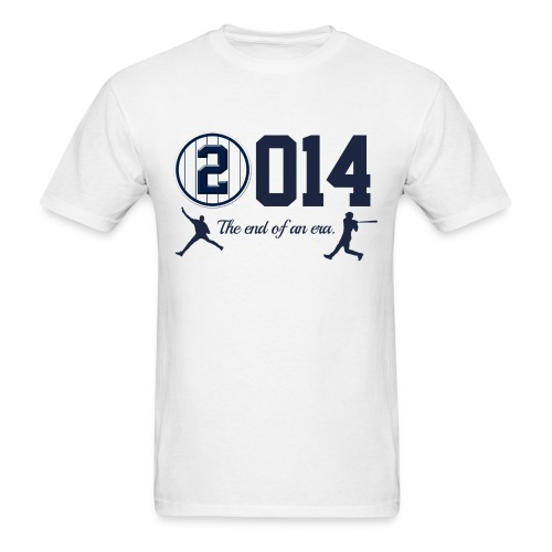 Jeter Tribute - 2014 End of Era - Men's T-Shirt
