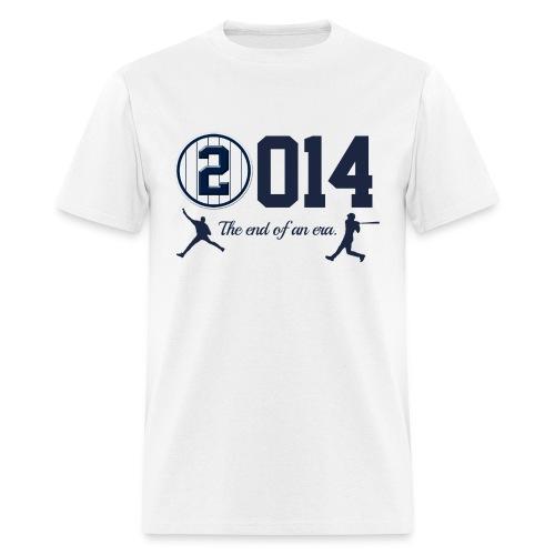 Jeter Tribute - 2014 End of Era - Men's T-Shirt