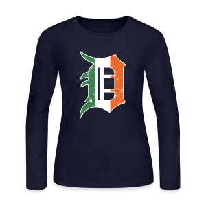 IRISH D - Women's Long Sleeve Jersey T-Shirt