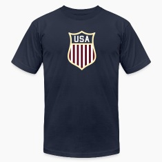 USA  Badge T-Shirts