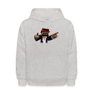Sweatshirts ~ Kids' Hooded Sweatshirt ~ 3D Singer