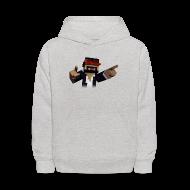Sweatshirts ~ Kids' Hooded Sweatshirt ~ 3D Singer