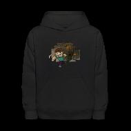 Sweatshirts ~ Kids' Hooded Sweatshirt ~ Cave Escape