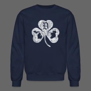 Detroit Michigan Ireland Shamrock - Crewneck Sweatshirt