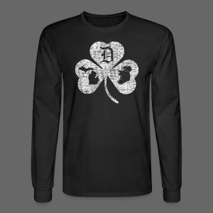 Detroit Michigan Ireland Shamrock - Men's Long Sleeve T-Shirt