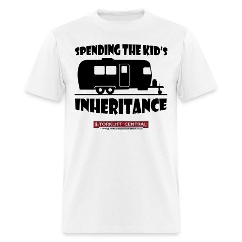 Inheritance-Torklift Central-White - Men's T-Shirt