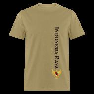 T-Shirts ~ Men's T-Shirt ~ Indonesia Raya Merdeka Series