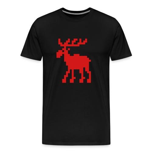 Kiss Me, I'm a Richard Sherman Fan (St. Paddy's) - Men's Premium T-Shirt