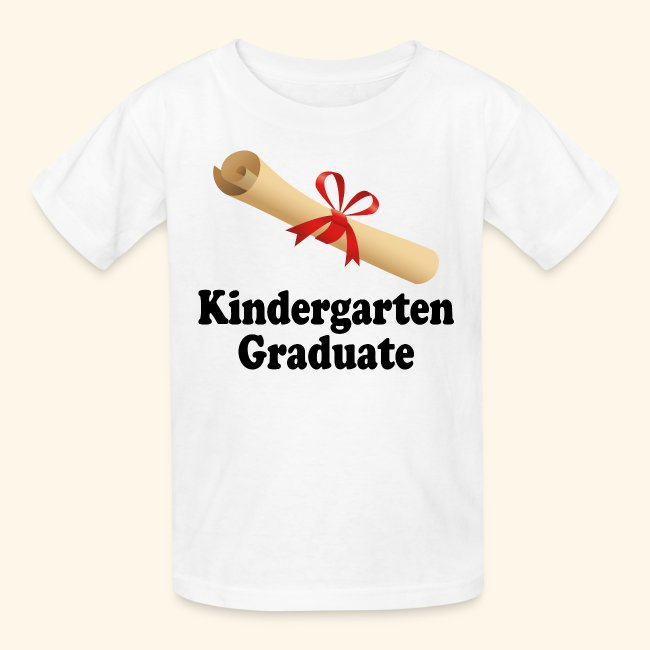 homewise shopper kindergarten graduation kids tshirt diploma