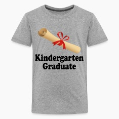 Kindergarten Graduation Diploma Design Kids' Shirts