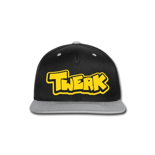 Twerk - Snap-back flat bill cap - Snap-back Baseball Cap