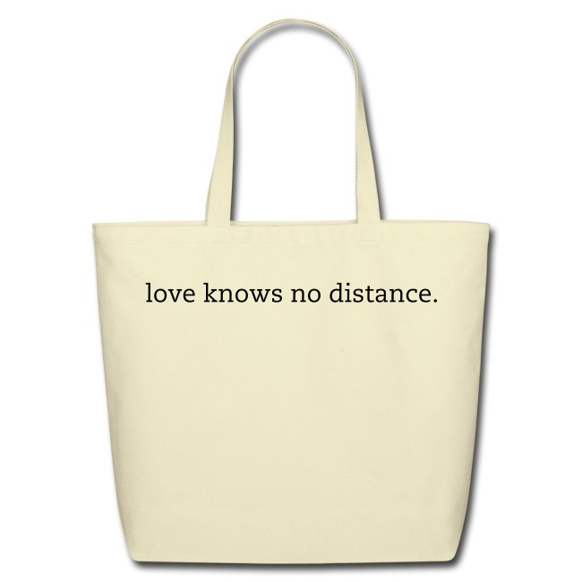 No Distance Tote, Customizable
