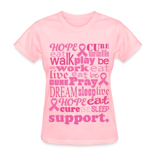 Breast Cancer Tee. - Women's T-Shirt