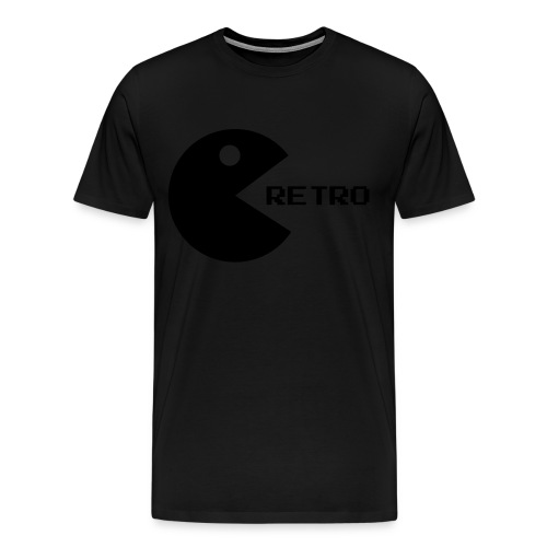 Retro From GamesYoDay - Men's Premium T-Shirt