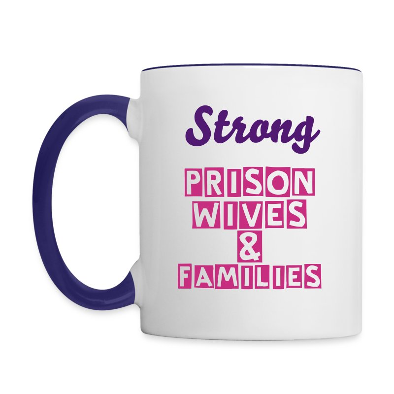 SPWF MugStrong  Prison Wives & Families - Contrast Coffee Mug