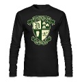 St. Patricks Day Detroit Irish Crest  Long Sleeve Shirts