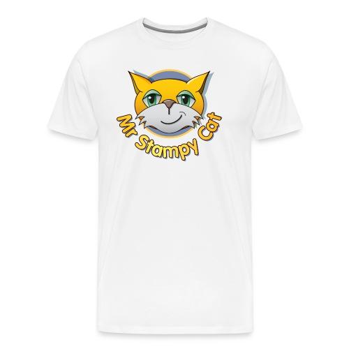 Mr. Stampy Cat  - Men's Premium T-Shirt