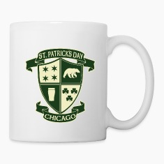 st_patricks_day_chicago_irish_crest_clothing_tees Bottles & Mugs
