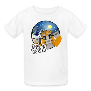 It's A Snowy Town - Child's T-shirt  - Kids' T-Shirt