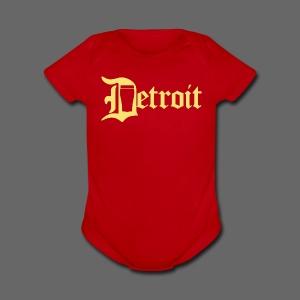 Detroit Pint City - Short Sleeve Baby Bodysuit