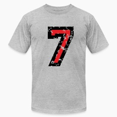 Number Seven T-Shirt No.7 (Men Grey)