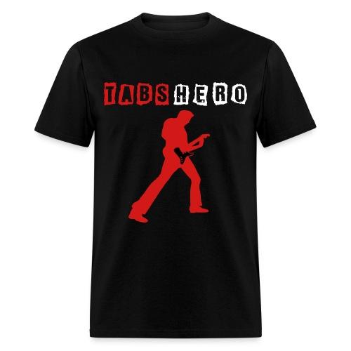 Tabs Hero Black Shirt - Men's T-Shirt