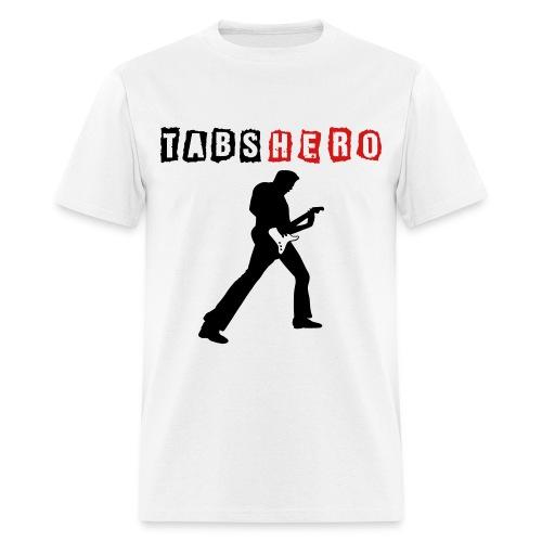 Tabs Hero White Shirt - Men's T-Shirt